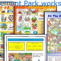 Amusement Park Worksheets