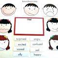 Free Feelings Worksheets For Preschoolers