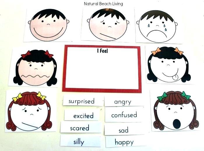 Autism Emotions Worksheets