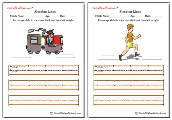 Tracing Sleeping Lines