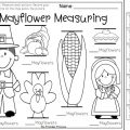 Thanksgiving Measurement Worksheets