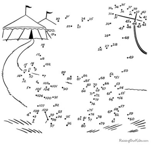 Connect Dots Worksheets