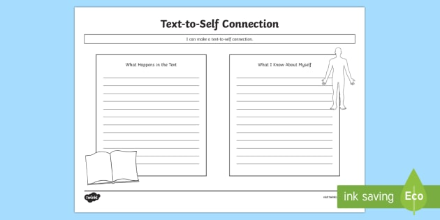 Cfe Text To Self Connections Worksheet   Worksheet