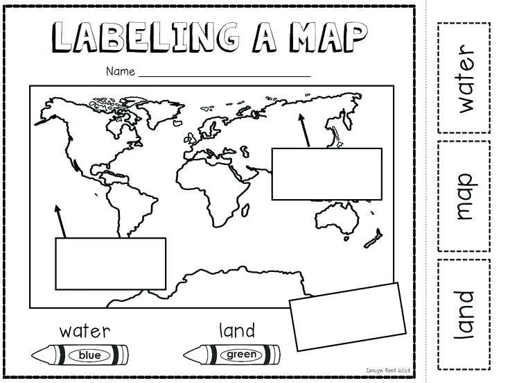 1st Grade Map Worksheets – Openlayers Co