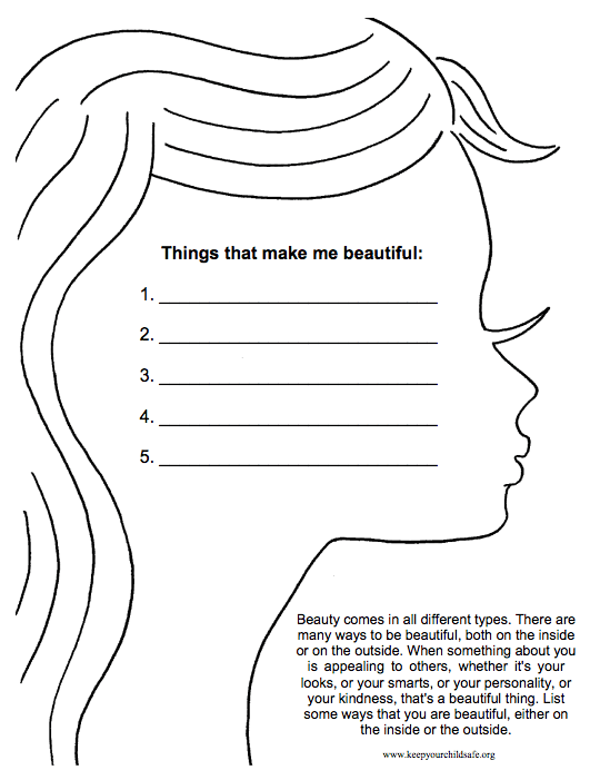 Confidence Worksheets For Adults