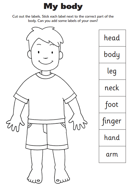 Heavenly Father Has A Body (for Sunbeam Lesson 2) [images