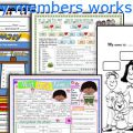 Family Members Vocabulary Worksheets