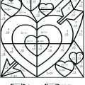 Math And Coloring Worksheets