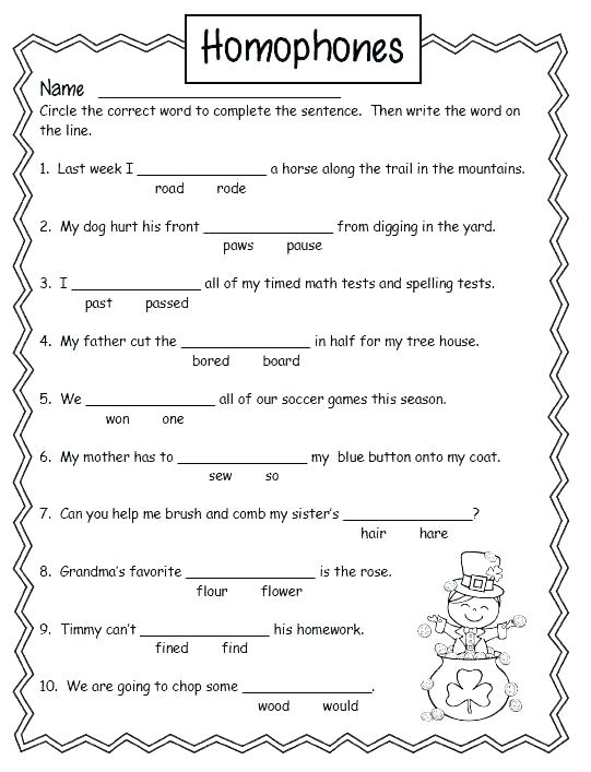 There Their They Re Worksheet Beautiful Or Homonym Homograph Vs
