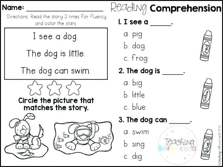 Fun English Worksheets For Kids