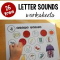 Beginning Sounds Worksheets Printable