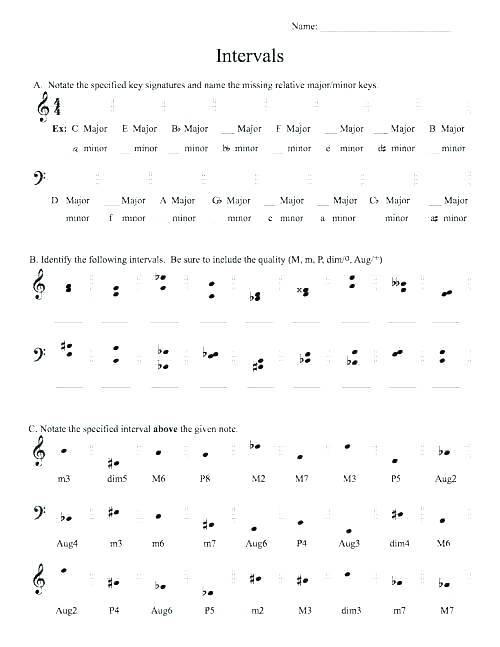 Music Theory Worksheets Free Printable Opus Beginning Worksheet