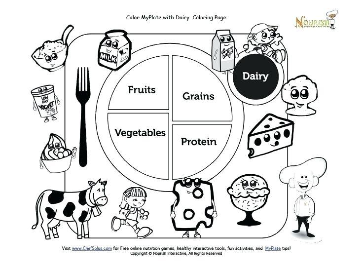 Kindergarten Nutrition Worksheets