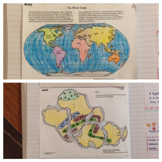 Pangaea – Science With Mrs  Barton