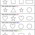 Shapes And Colors Printable Worksheets