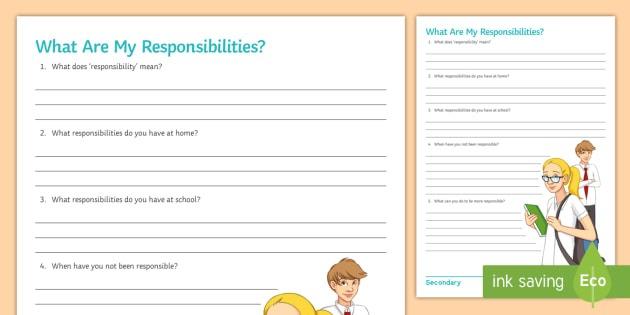 Responsibility Worksheets Pemdas Worksheets Perimeter Worksheets