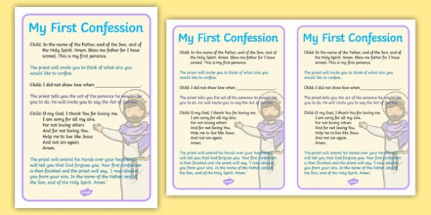 Sacrament Of Reconciliation Rite Of Penance Order