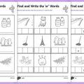 Er Phonics Worksheets
