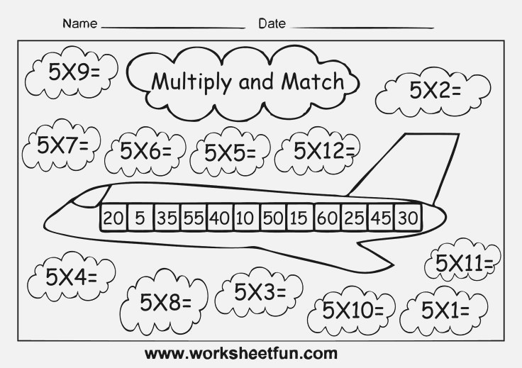 Four Times Tables Worksheets – Harddance Info