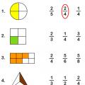 Math Fraction Worksheets