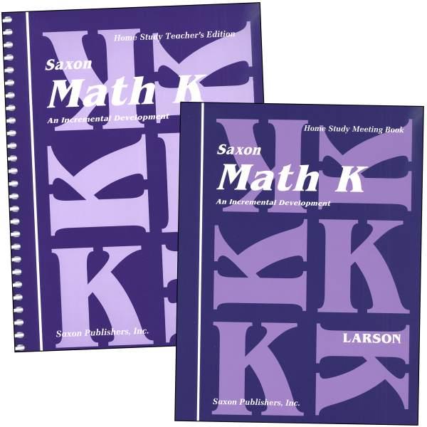 Saxon Math K Homeschool Kit, Saxon Publishers, 018398