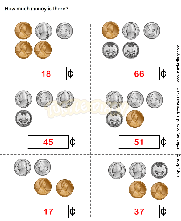 Counting Coins Worksheet 15