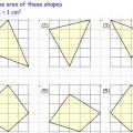 Compound Area Worksheets