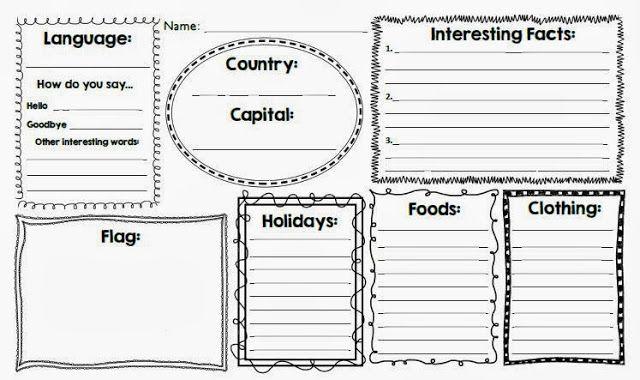 My Culture Worksheet Worksheet