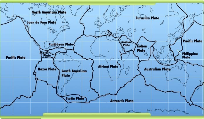 Plate Tectonics, Earthquakes & Volcanoes