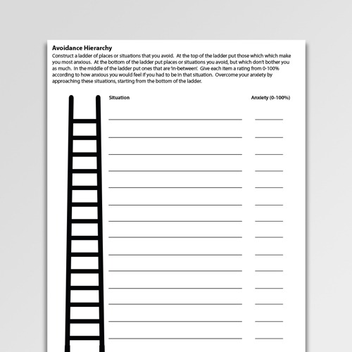 Anxiety Cbt Worksheets & Handouts