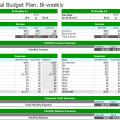 Weekly Budgeting Worksheets