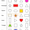 Colours Worksheets Kindergarten