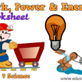 Physics Work And Energy Worksheets