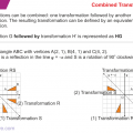 Combined Transformations Worksheets