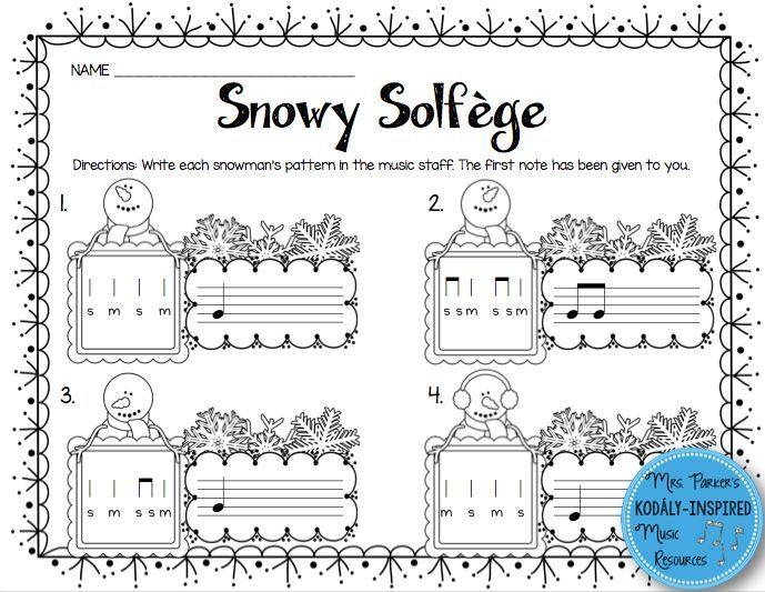 28+ [ Solfege Worksheets For Kids ]