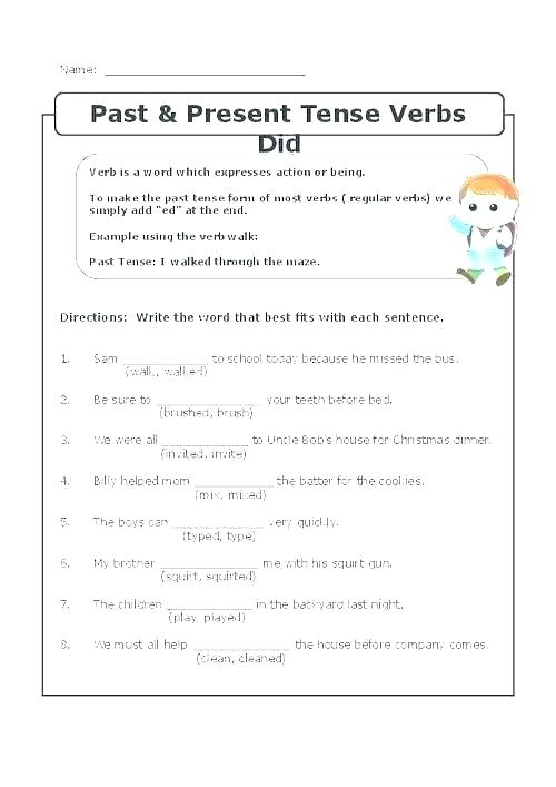 Engineering Design Worksheet Middle School Verb Tense Worksheets