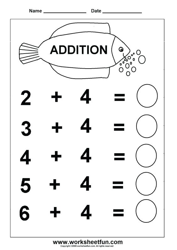 Esl Free Worksheets For Kindergarten