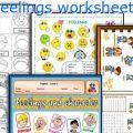 Feelings Printable Worksheets