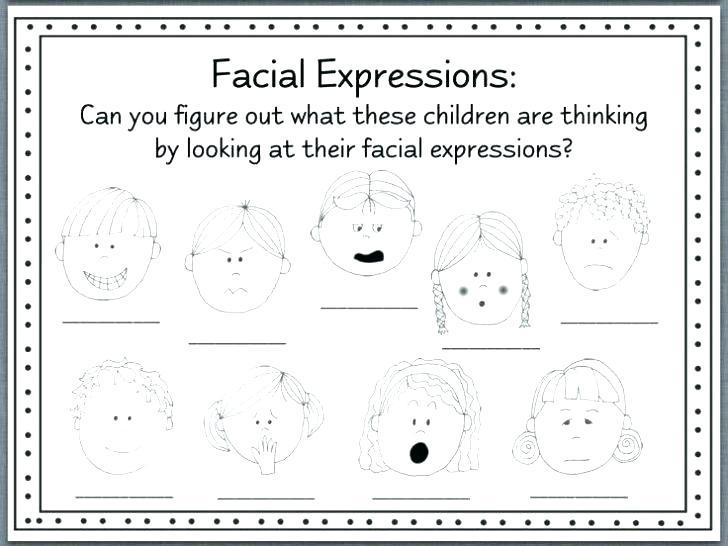 Feelings Worksheets For Kids Letter Main Ideas Worksheets Grade 5