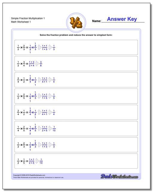 Fraction Multiplication