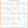 Small Alphabet Letters Tracing Worksheets