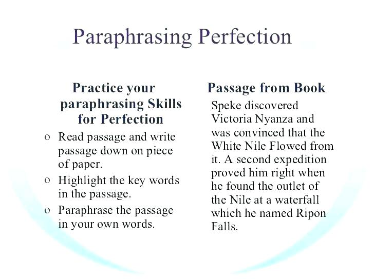 Free Paraphrasing Worksheets Free Paraphrasing Worksheets Hot Tips