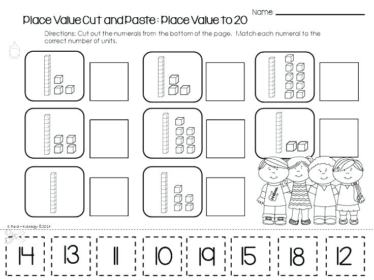Place Value Kindergarten Worksheets – Katyphotoart Com