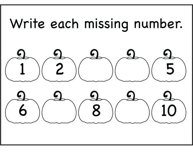 Numbers 1 5 Worksheets For Preschoolers