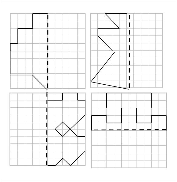 6+ Reflective Symmetry Worksheet Templates & Samples