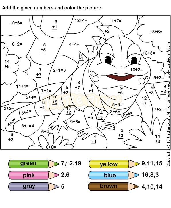 Math Coloring Worksheets For 6th Grade