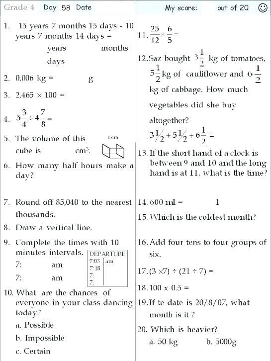 Maths Worksheets For Free Download Elegant Mental Ukg Cbse Pdf