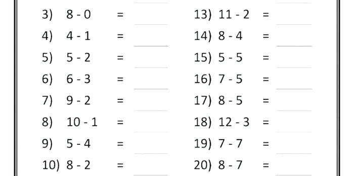 Printable Mathematics Worksheets For 6 Year Olds – Makinterests Com