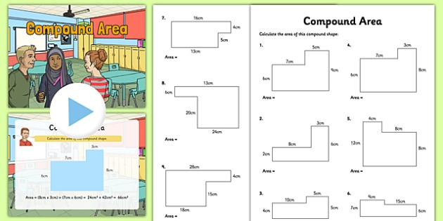 Compound Area Teaching Pack