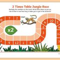 Two Times Table Worksheets Ks1